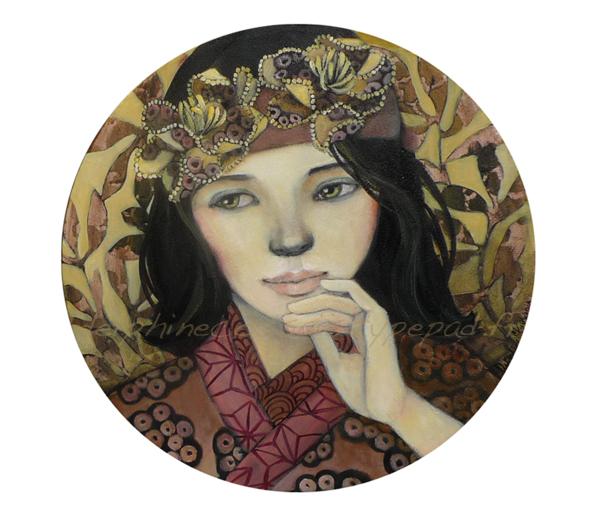 Lafille-au-kimono