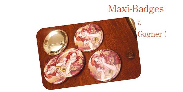 Maxi-badges