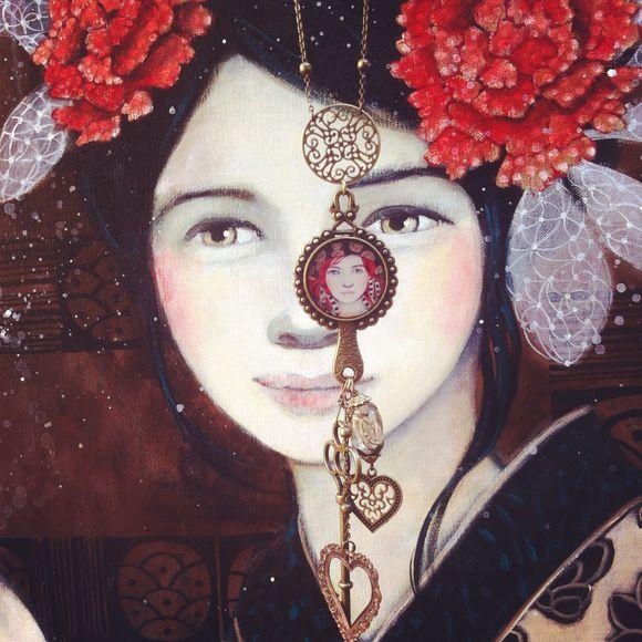 Portrait et bijoux