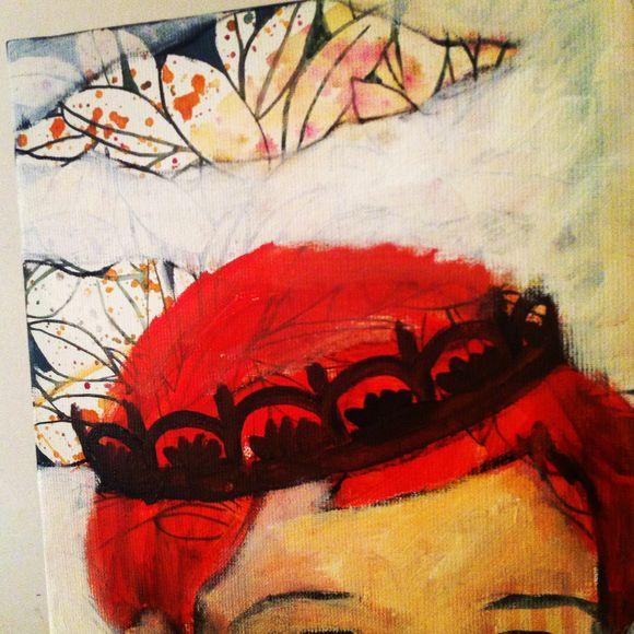 Grande toile pour Sandrine