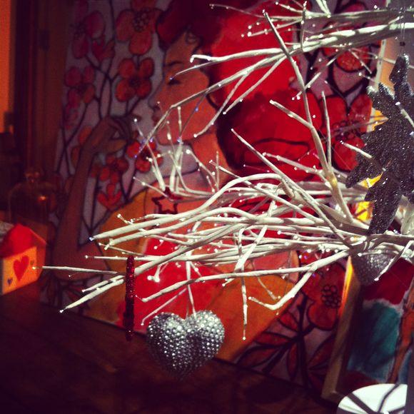 Noël rouge velours et chocolats en cascade