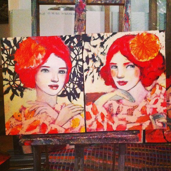 Deux sœurs rousses