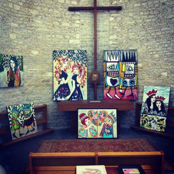 Exposition Chapelle Ars en Ré