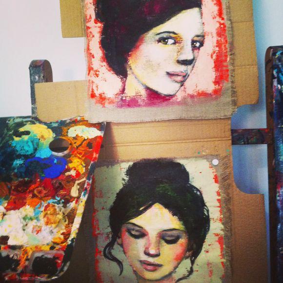 Mes deux ateliers....