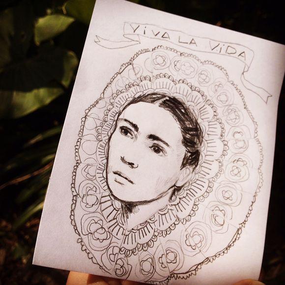Frida dans la tête ...