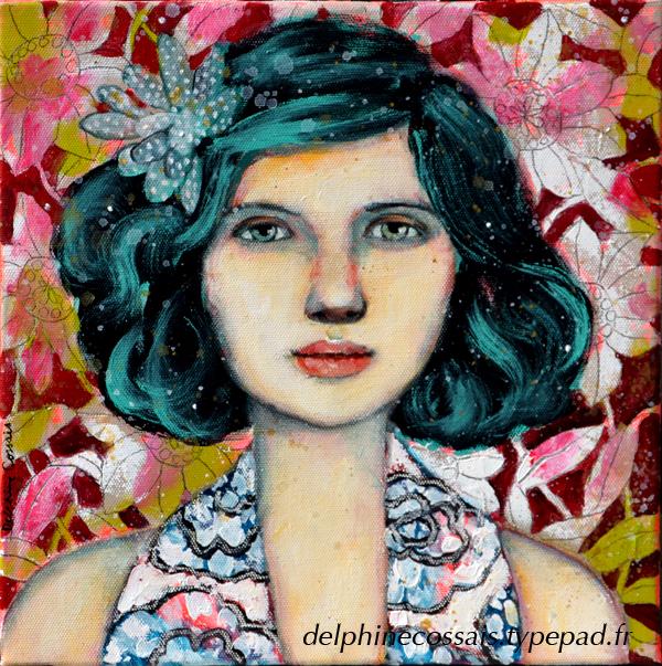 Portrait-fleuri
