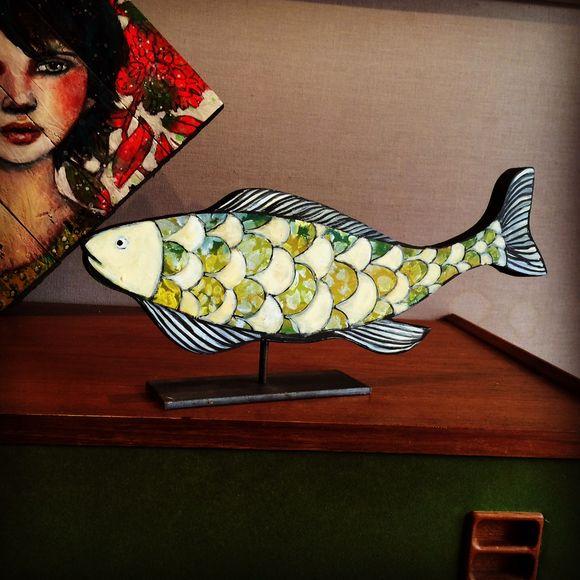 Portraits et poissons