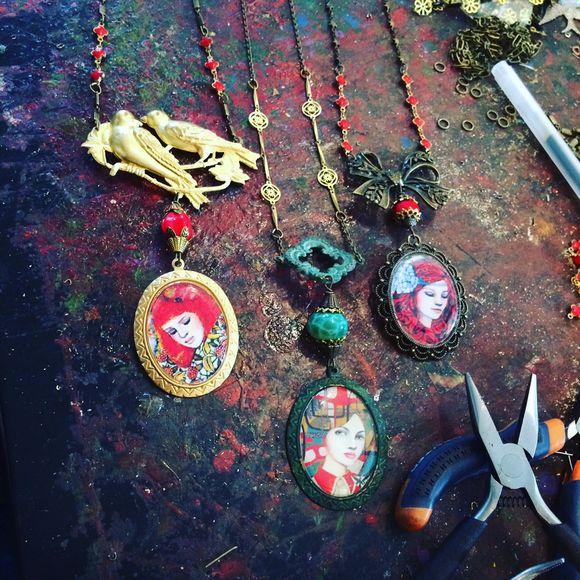 Nouvelle série de bijoux inédite