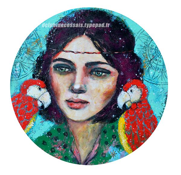 Dresseuse-perroquets